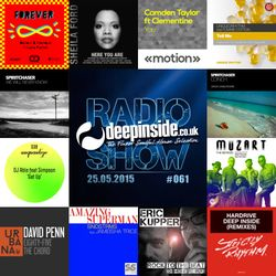 DEEPINSIDE RADIO SHOW 061 (Spiritchaser Artists of the week)