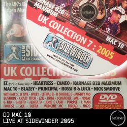 DJ Mac 10 - Live at Sidewinder 2005