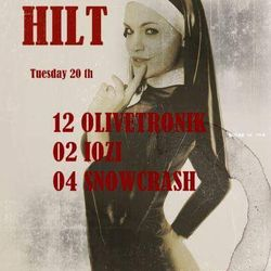 OLIVETRONIK@hilt  tuesday,december20