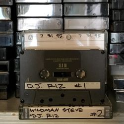 The Hip Hop Spot w/WildMan Steve & DJ Riz 90.3 WBAU July 31, 1995
