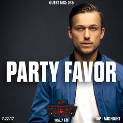 ROQ N BEATS with JEREMIAH RED 7.22.17 - GUEST MIX: PARTY FAVOR - HOUR 2