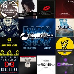 DEEPINSIDE RADIO SHOW 062 (Opolopo Artist of the week)