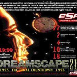 DJ Rap at Dreamscape 21 NYE 1995/96