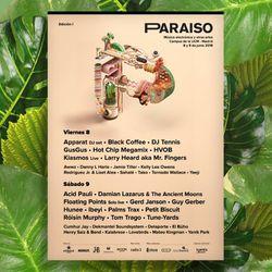 PARAISO FESTIVAL RADIO SHOW 8TH JUNE 2018    - PART 2