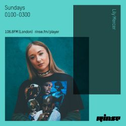 The Lily Mercer Show | Rinse FM | December 10th 2017 |