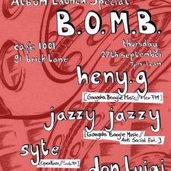 Live @ B.O.M.B (27.09.12)
