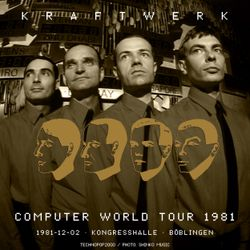 Kraftwerk - Kongresshalle, Böblingen, 1981-12-02