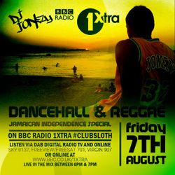 DJ Jonezy - BBC Radio 1Xtra -  Jamaican Independence Mini Mix