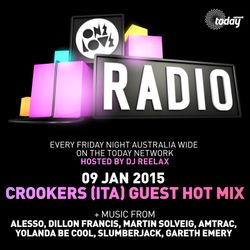 ONELOVE RADIO 9 JANUARY 2015 - CROOKERS HOT MIX