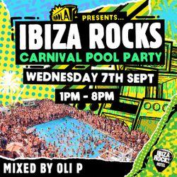 Ibiza Rocks Carnival Pool Party - Mixed by Oli P