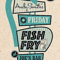 DJ Andy Smith Friday Fish Fry at Joe's bar, Camden - 2/10/15