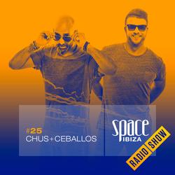 Chus+Ceballos at Café Olé 15th Anniversary - August 2014 - Space Ibiza Radio Show #25