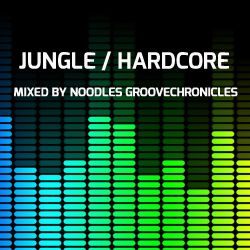 JUNGLE & HARDCORE VOL 5 NU-GENERATION VINYL MIX BY NOODLES GROOVECHRONICLES