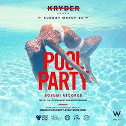 KANU b2b ASCO LIVE @ Miami Sosumi Pool Party 2018