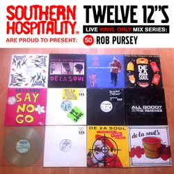 Twelve 12's Live Vinyl Mix: 50 - Rob Pursey – De La Soul special!