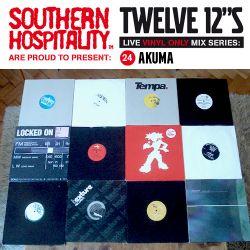 Twelve 12's Live Vinyl Mix: 24 - Akuma