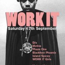 Phaze One - Work It Warm Up (DeJaVu 14/09/11)