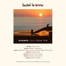 Live at Hostal La Torre Ibiza -  June 5th 2019