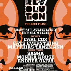 Music Is Revolution Sunset Session, Space Ibiza - 04 August 2015