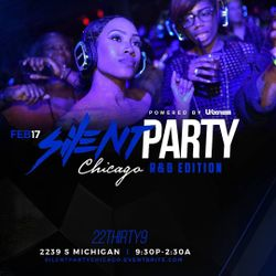 A Night @ Bassline: Silent Party-Chicago R&B Edition - 17 Feb 2018