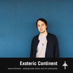 Exoteric Continent - Secret Thirteen Mix 171