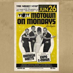 Ohmega Watts - Live DJ Set @ Motown on Mondays [Los Angeles] 6/26/2017