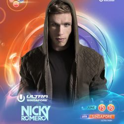 Nicky Romero LIVE @ Ultra Music Festival Singapore 2018