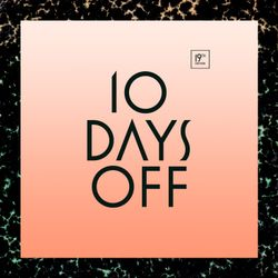 10 Days Off 2013 - I AM NOT A DJ exclusive promomix