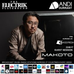 Electrik Playground 23/9/17 inc. Makoto Guest Session