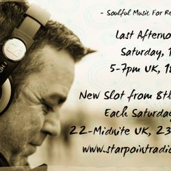 Last Afternoon Show on Starpoint Radio - #79 - Some Fav Soulful House For You
