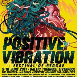 DJ Andy Smith at Liverpool Positive Vibration Reggae festival - 9.6.17