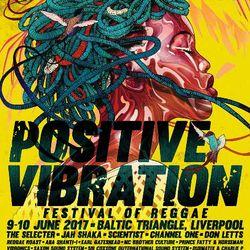 DJ Andy Smith at Liverpool Positive Vibration Reggae festival - 9.6.17