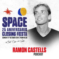 Ramon Castells at Space Ibiza  - Closing Fiesta 2014