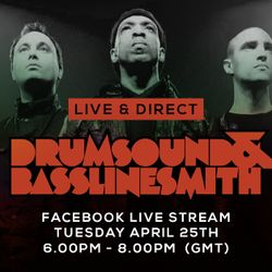 Drumsound & Bassline Smith - Live & Direct #35 [25-04-17]