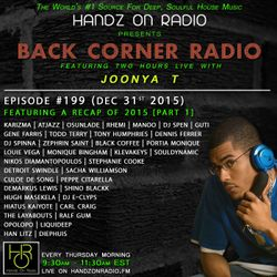 BACK CORNER RADIO: Episode #199 (Dec 31st 2015) [2015 Recap Part 1]