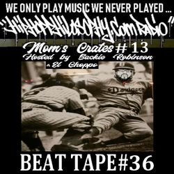 Mom's Crates #13 - HipHop Philosophy Radio LIVE - BEAT TAPE #36