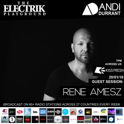 Electrik Playground 20/1/18 inc. Rene Amesz Guest Session