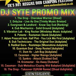 One Love Festival 2011 Promo Mix