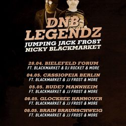 JUMPING JACK FROST @ LEGENDZ - CONCRETE DNB BERLIN