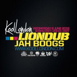 LIONDUB & JAH BOOGS - 06.06.18 - KOOLLONDON [JUNGLE DRUM & BASS SPECIAL]