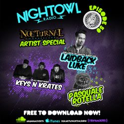 Night Owl Radio 050 ft. Keys N Krates and Laidback Luke