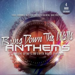 Bring Down The Walls - 3.4.2017 - ANTHEMS NIGHT Live at The Continental Bar - San Jose, California