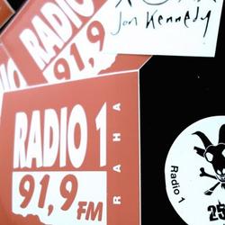 """Radio 1"" . Prague . CZ . April 20th . 2018"