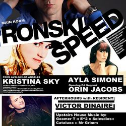 Kristina Sky Live @ SPIN with Ronski Speed (San Diego, Ca) [12-16-11]
