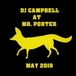 D.J. Campbell at Mr.Porter Barcelona - May 2019