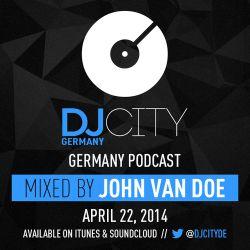 John van Doe - DJcity DE Podcast - 22/04/14