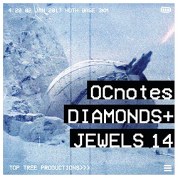 OCnotes Top Tree Diamonds & Jewels Mix #14