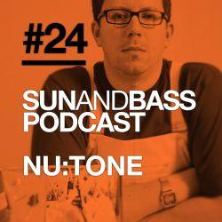 SUNANDBASS Podcast #24 - Nu:Tone