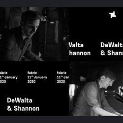 DeWalta & Shannon (Live) fabric Promo Mix