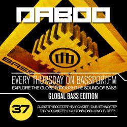 BASS TREK 37 with DJ Daboo on bassport.FM